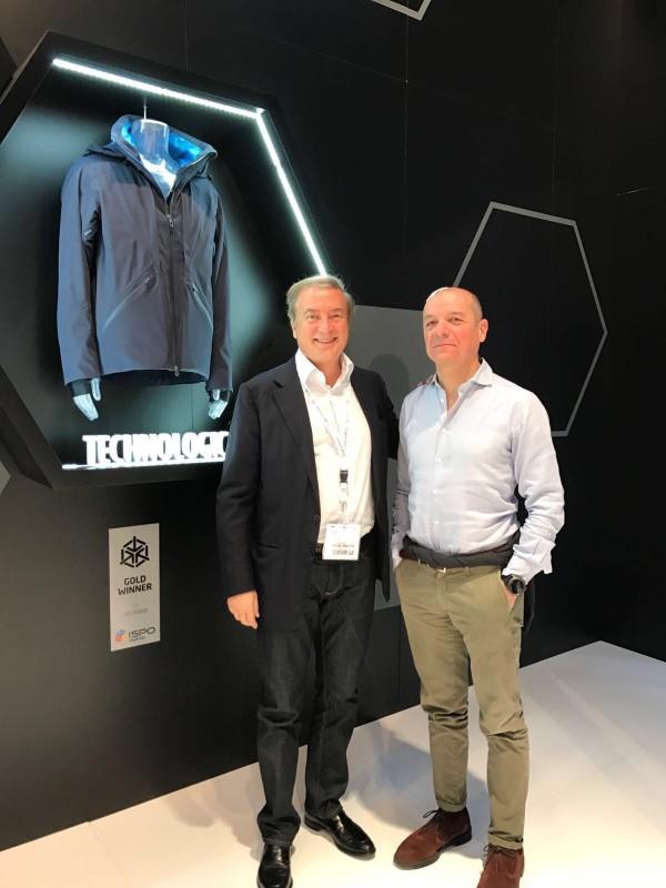 Giulio Cesareo e Giulio Colombo a ISPO 2017